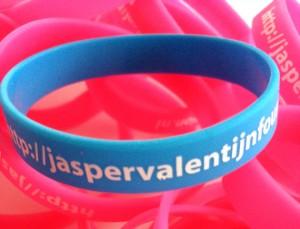 Polsbandje blauw JasperValentijn 2